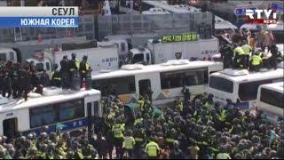 Беспорядки после импичмента президента Южной Кореи  два человека погибли, еще несколько ранены