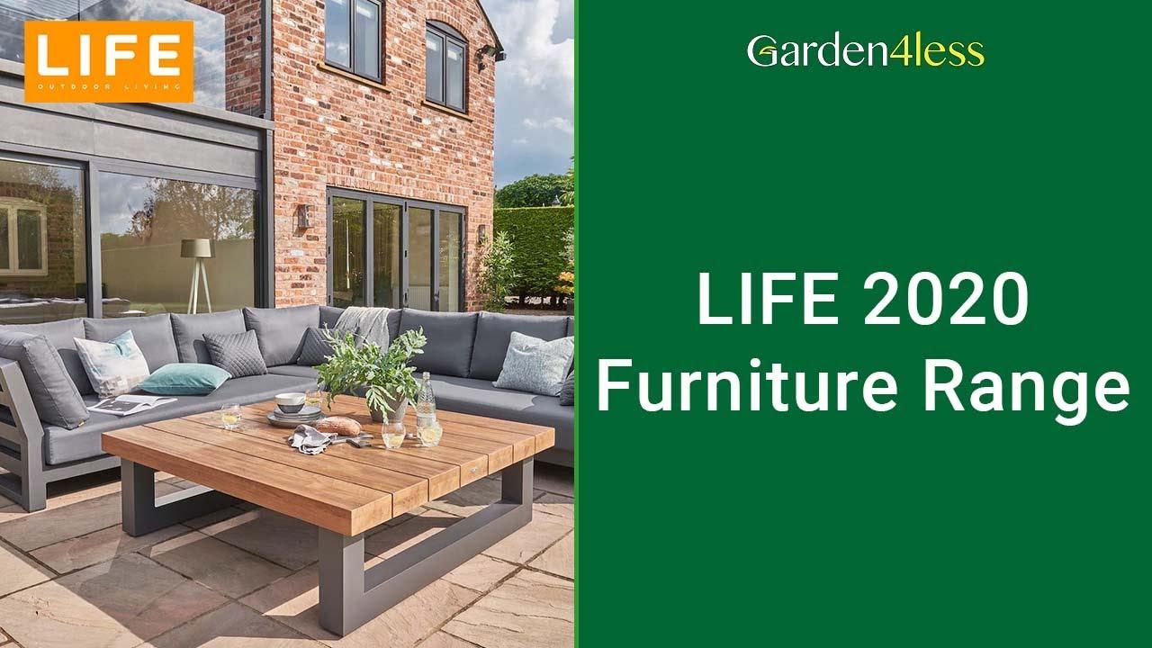 LIFE Outdoor Garden Furniture - Weave/Rattan & Metal Garden Furniture