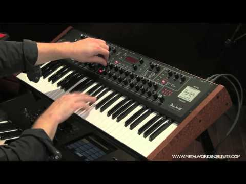 Analog Synth Demonstration - Keyboard Tutorial