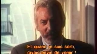 Cinéma Cinémas - Donald Sutherland - 1989