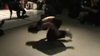 Bboy Ego knee spin at Raw Circles