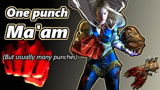 One Punch Ma'am - Crit. Facebreaker Abyssus - Path of Exile (3.6 Synthesis)