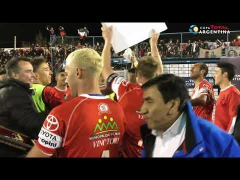 Los festejos de Deportivo Maipú por la clasificación a 16avos