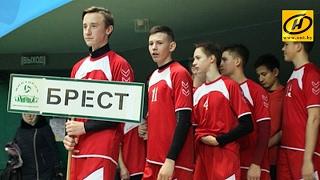 В Бресте дан старт детско-юношеской гандбольной лиге «ZUBR CUP»