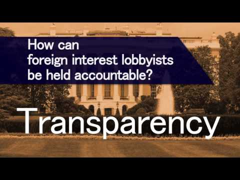 Exposed: Loopholes in Lobbying Disclosures (Foreign Interests edition)