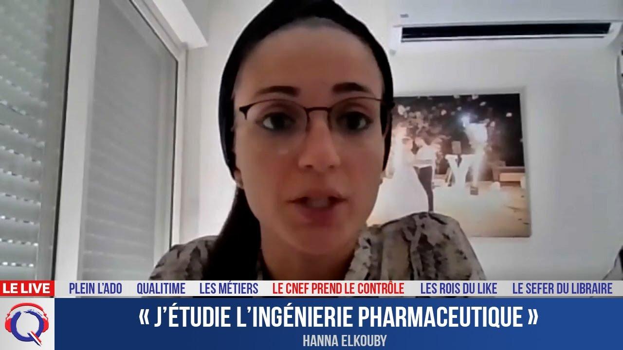 « J'étudie l'ingénierie pharmaceutique » - CNEF#56