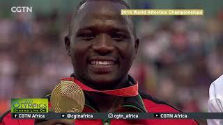 2016 Olympics silver medalist Julius Yego eyes Tokyo Games
