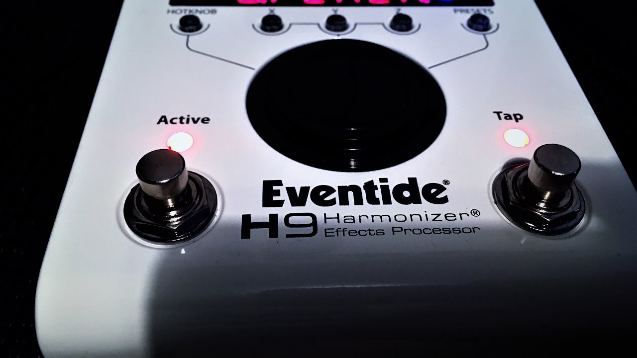 eventide h9 pitch fuzz factory preset run through youtube. Black Bedroom Furniture Sets. Home Design Ideas