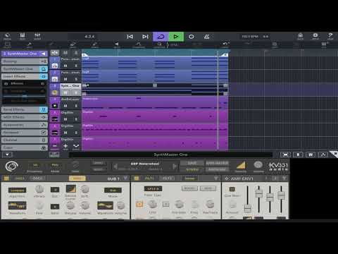 Making a simple trap/hip hop beat in Cubasis 3🔥🔥 on iPad Pro 11.