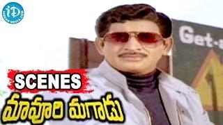 Maavoori Magaadu Telugu Movie Scenes - Krishna Introduction Best Scene