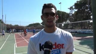 15-07-2015: Michele Fedrizzi al Jam Camp in Puglia, dallo scudetto con Trento a Molfetta
