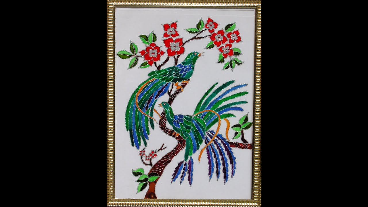 Beautiful Paintings Of Birds Images