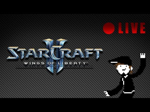 StarCraft II - LIVE 04 - Wings of Liberty [Let's Play][Stream][PC]