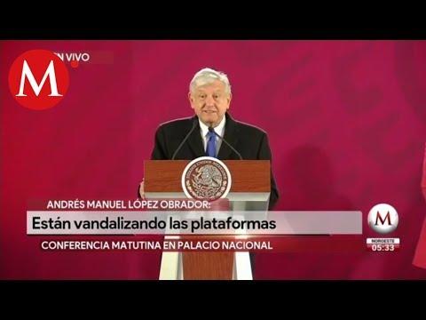 Habrá vigilancia permanente en ductos: Andrés Manuel López Obrador