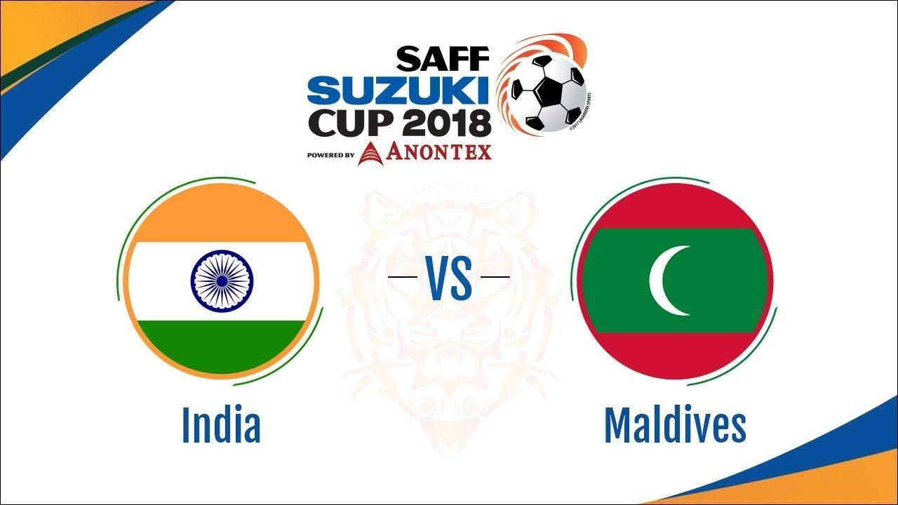 Saff Suzuki 2018 Live Streaming Match: INDIA vs MALDIVES by