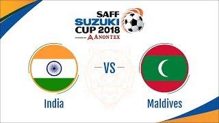 Saff Suzuki 2018 Live Streaming Match: INDIA vs MALDIVES by Image tv