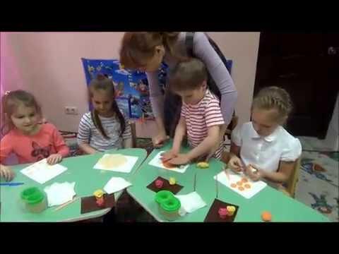 Занятие по лепке для старших дошкольников