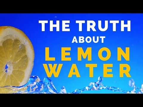 Drinking Lemon Water Health Benefits and Myths