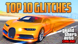 GTA 5 ONLINE -  TOP 10 BEST GLITCHES & TRICKS ONLINE YOU MAY NOT KNOW! (GTA 5 Glitches & Tricks)