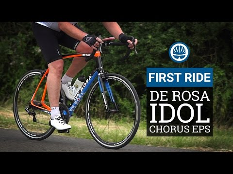 De Rosa Idol Campagnolo Chorus EPS  First Ride