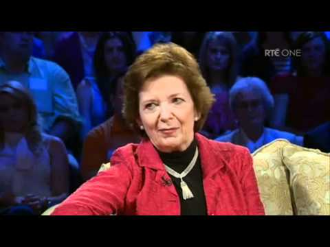 Saturday Night with Miriam: Mary Robinson interview