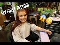 My First Tattoo Experience! *LOW PAIN TOLERANCE* | Taylor Scarpaci