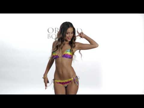 2013  'Groovy Baby' Brazilian Cut Bikini By Luli Fama Swimwear