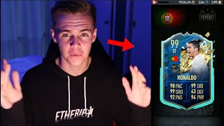 99 TOTS RONALDO IN A PACK!!! PACYBITS FIFA 20 PACK OPENING