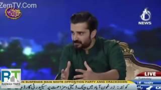 Hamza Ali Abbasi continues discussion of Ahmadiyya rights in his Ramzan Show