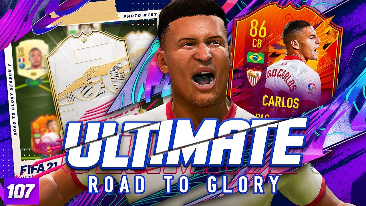 WE GOT A NEW ICON!!! ULTIMATE RTG! #107 FIFA 21 Ultimate Team Road to Glory