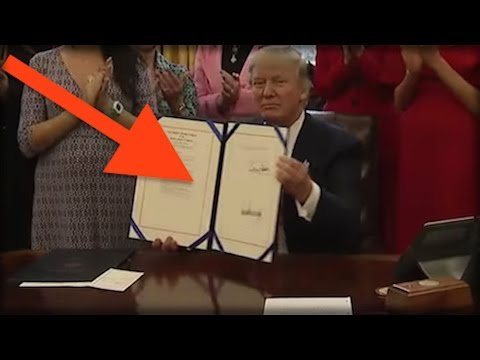 BREAKING: PRESIDENT TRUMP JUST SIGNED A NEW ORDER THAT WILL COMPLETELY DRAIN THE SWAMP!
