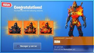 ⚠️ GETTING SKIN HIDDEN FROM SEASON 8 🔥RUIN🔥 NOW FORTNITE!! - Kolash