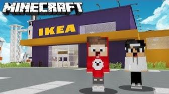 Wir KAUFEN zum ERSTEN MAL bei IKEA EIN in MINECRAFT