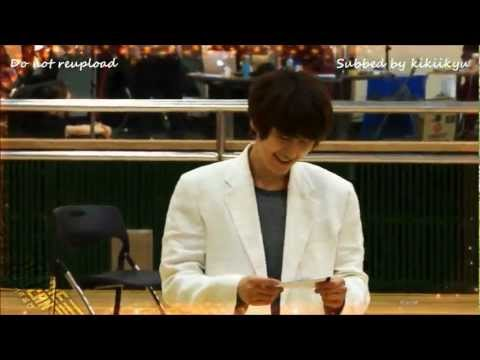 [Eng] 120328 Musical Catch Me If You Can - Kyuhyun's Practice Sketch