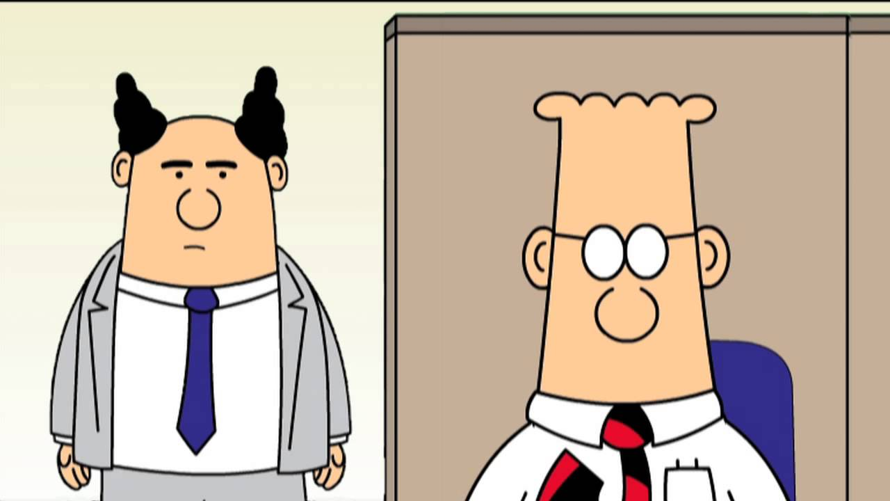 dilbert business planning cartoons characters