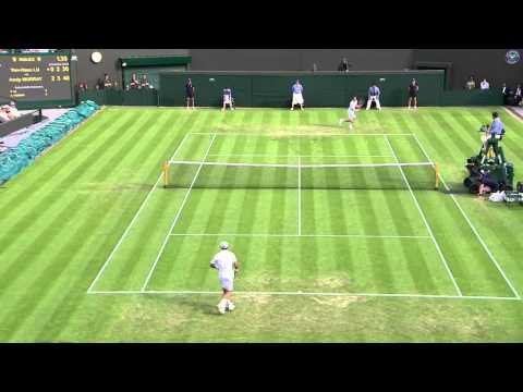 2013 Day 3 Highlights: Yen-Hsun Lu v Andy Murray