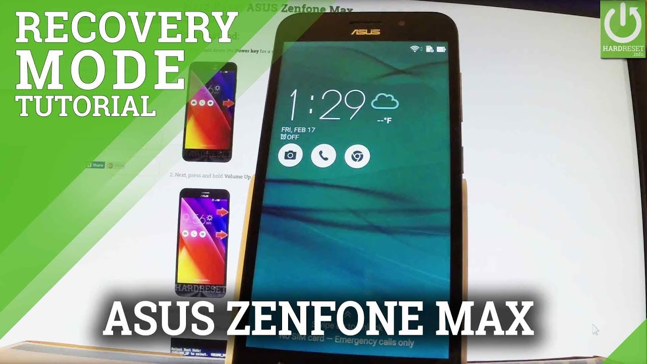 Recovery Mode ASUS ZenFone Max Pro M1 - HardReset info