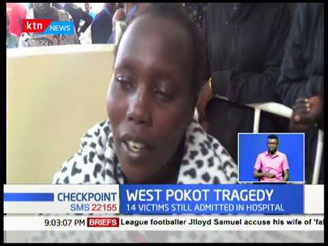 14 West Pokot mudslide survivors admitted in hospital