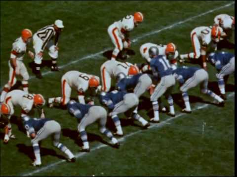 1967 Browns at Lions Game 2