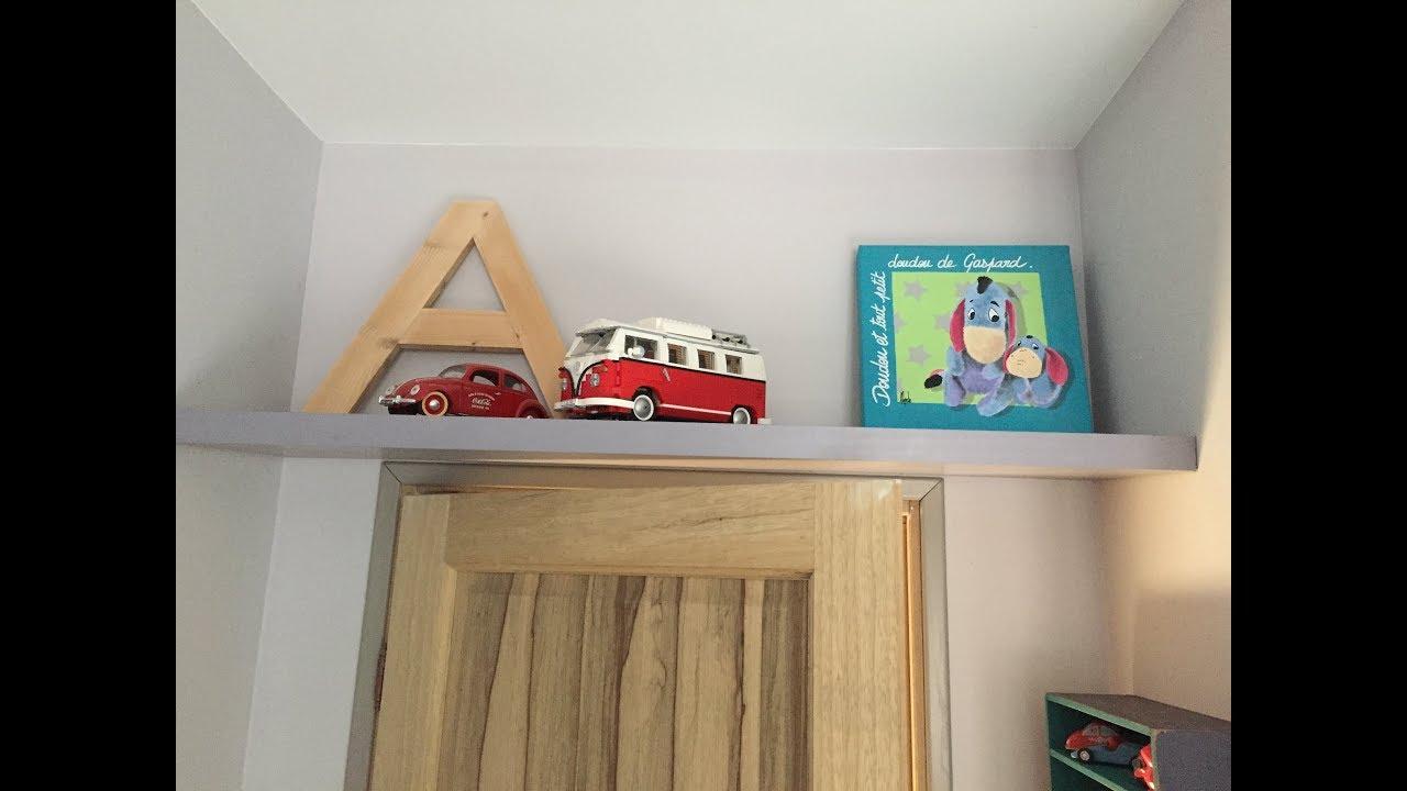 Ajouter Une Étagère Dans Un Placard fixer une etagere sur un mur en placo