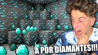 VOY A SER RICO DE DIAMANTES!!! MINECRAFT BYTARIFA DIRECTO