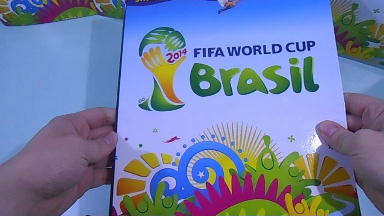 Panini Brazil 2014-1 Sticker Album 50 Packs FIFA World Cup Brasil