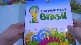 Panini World Cup Brazil 2014 Sticker album and stickers review