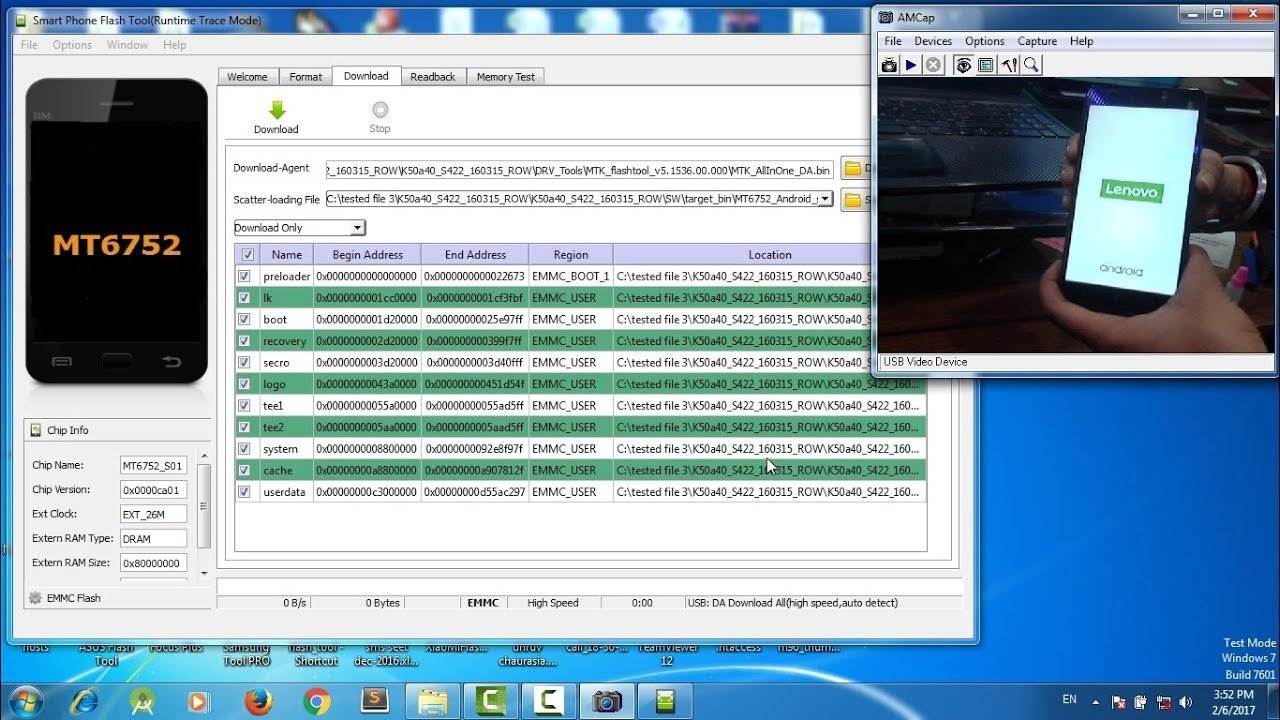 Lenovo k3 note k50a40 flashing | restore software upgrade | in Hindi