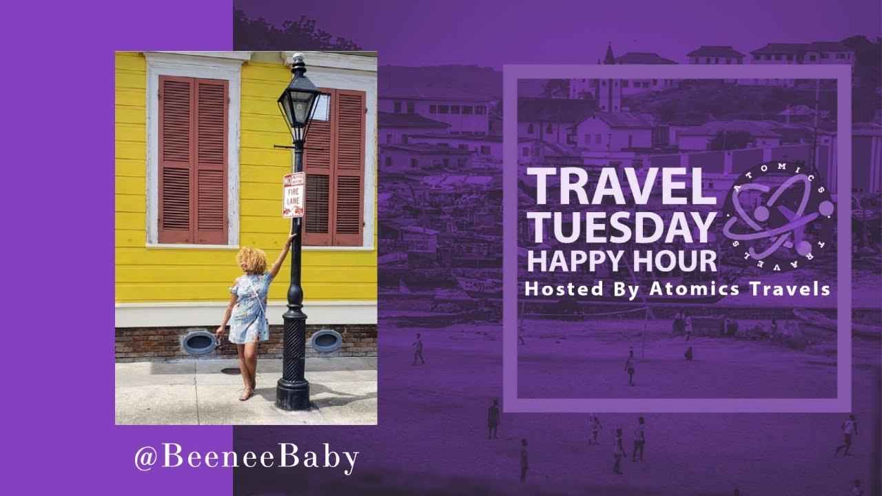 @BeeneeBaby | Episode 201 Travel Tuesday Happy Hour Podcast