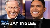 Jay Inslee - Running for President on a Platform of Fighting Climate Change | The Daily Show