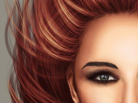 Realistic Hair Paint Tool Sai