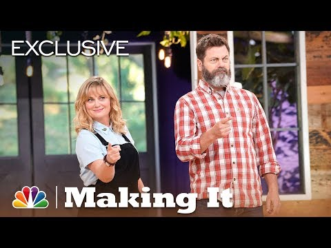 """Making It - Amy and Nick Play """"Smell That Wood!"""" (Digital Exclusive)"""