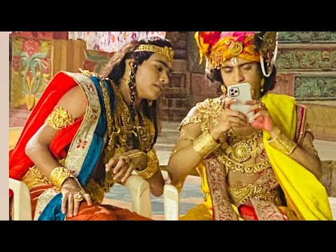 Kartikey Malviya's Radha Krishna shooting spot video??