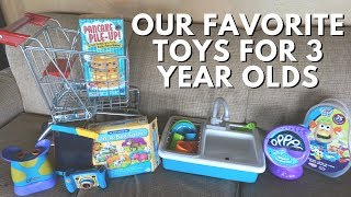 3 Year Old Favorite Toys & Gift Guide // 15  Ideas!